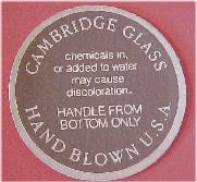 Cambridge Round Label 2