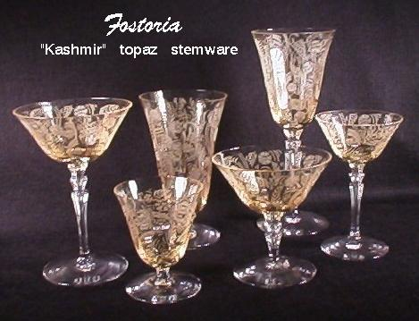 Our House Antiques Etching Identification And Information Page Stunning Crystal Patterns Identification